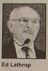 Ed Lathrop, Novato Citizen of the Year 2000